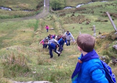 Beavers, Cubs & Scouts doing Hike to Eagles Rock