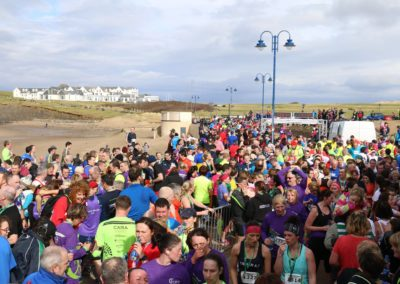 Runners at Cara Run Bundoran