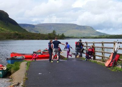 Organising cubs kayaking