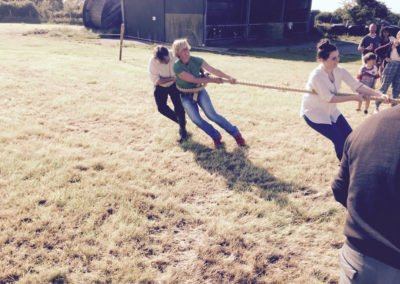 Annual Ballintrillick tug of war