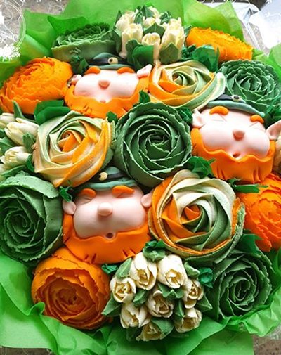 Irish Celebration Cupcakes by Cake Superior