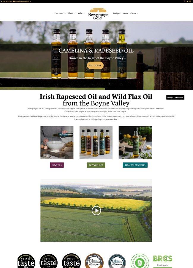 Newgrange Gold Rapeseed Oil & Camelina Oils