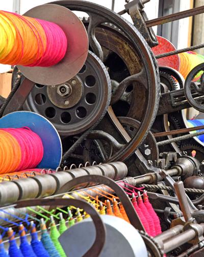 Studio Donegal Handweaving Machine
