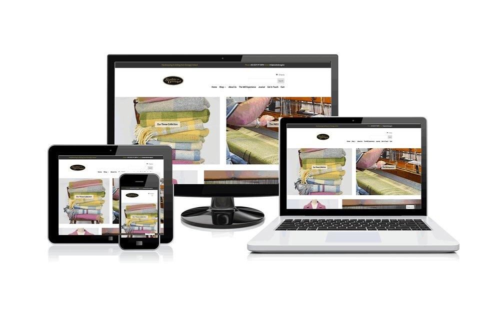 Studio Donegal website